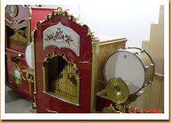 organ music, band organs, amusement parks, concession stands, midway rentals, circus music, circus organs, mechanical music, music machines, accordion music, band organ rentals, musical entertainment, calliope rentals